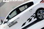 WRC FLAMALI STICKER MODELİ